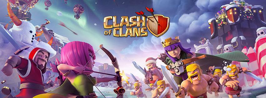 Hình ảnh bìa Clash of clans đẹp