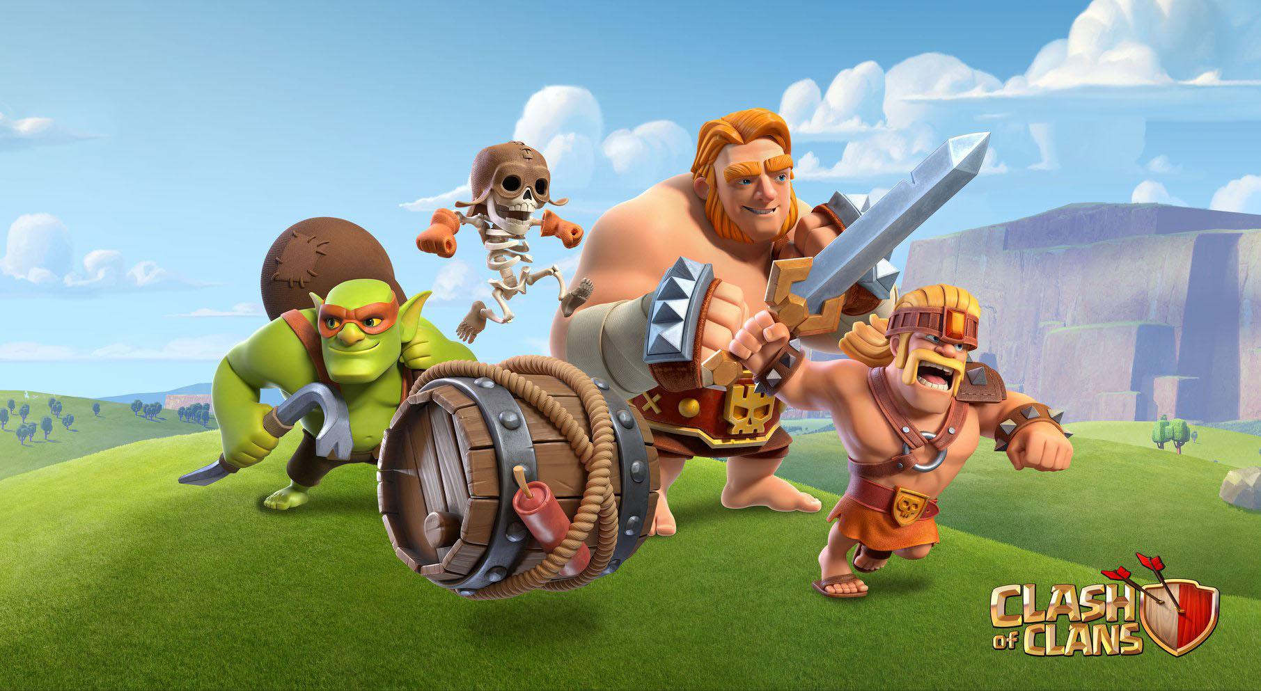 Hình ảnh Clash of clans anh hùng