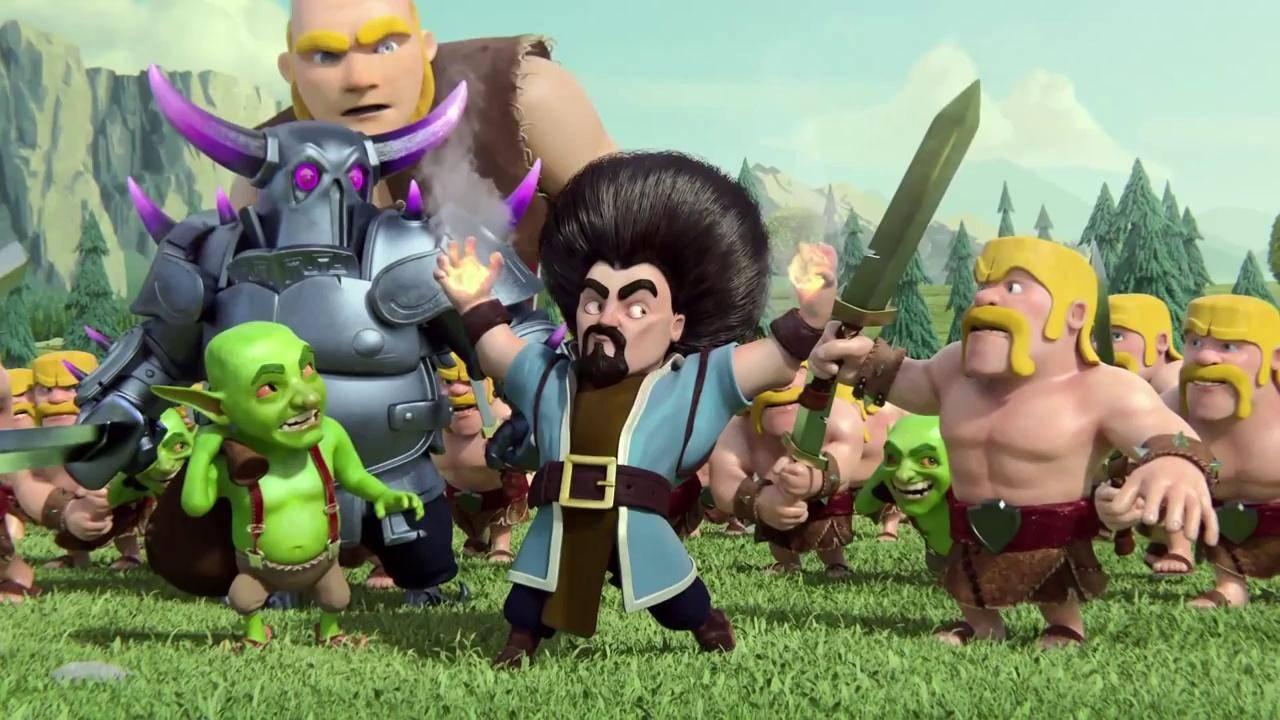 Hình ảnh Clash of clans chất