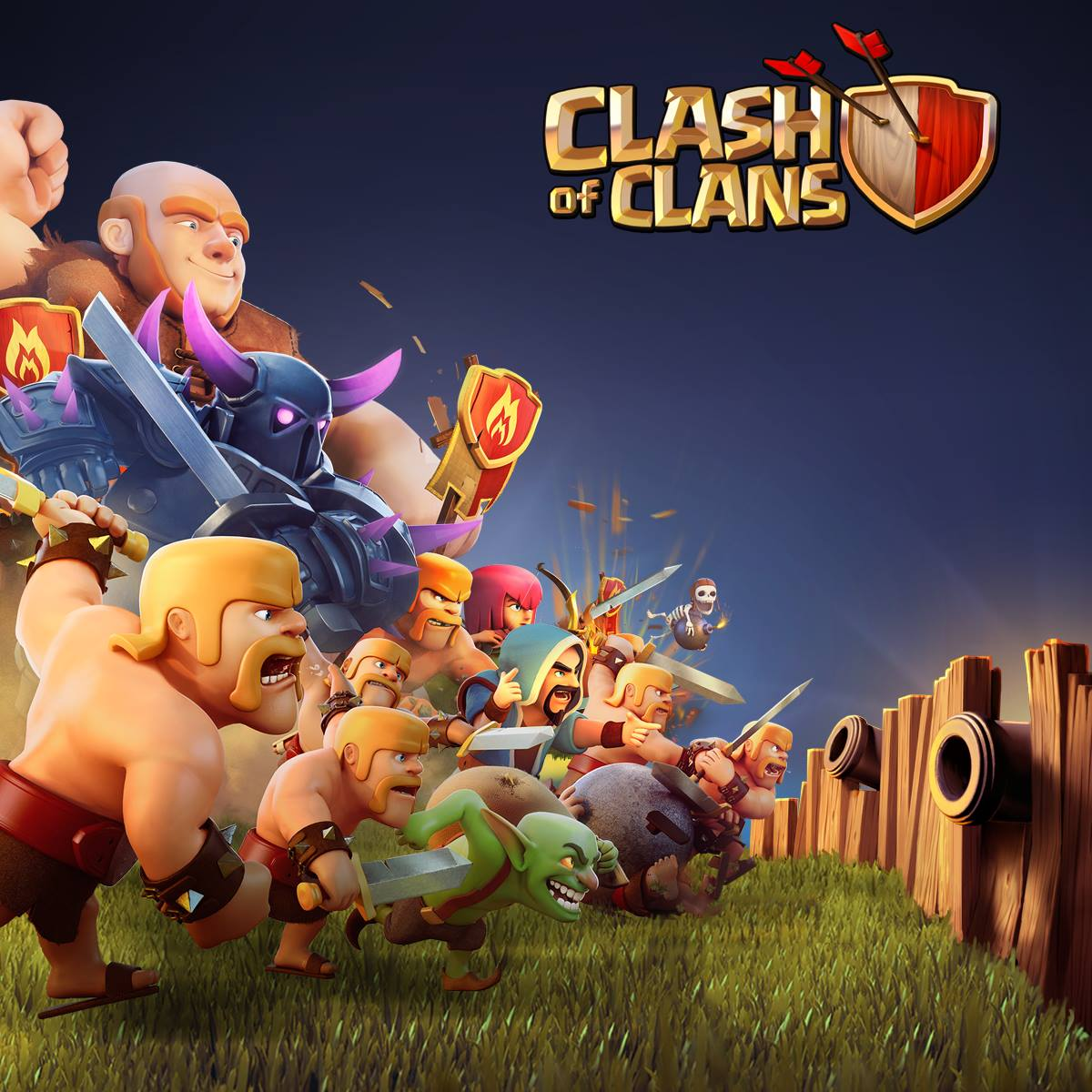 Hình ảnh Clash of clans đẹp và dễ thương