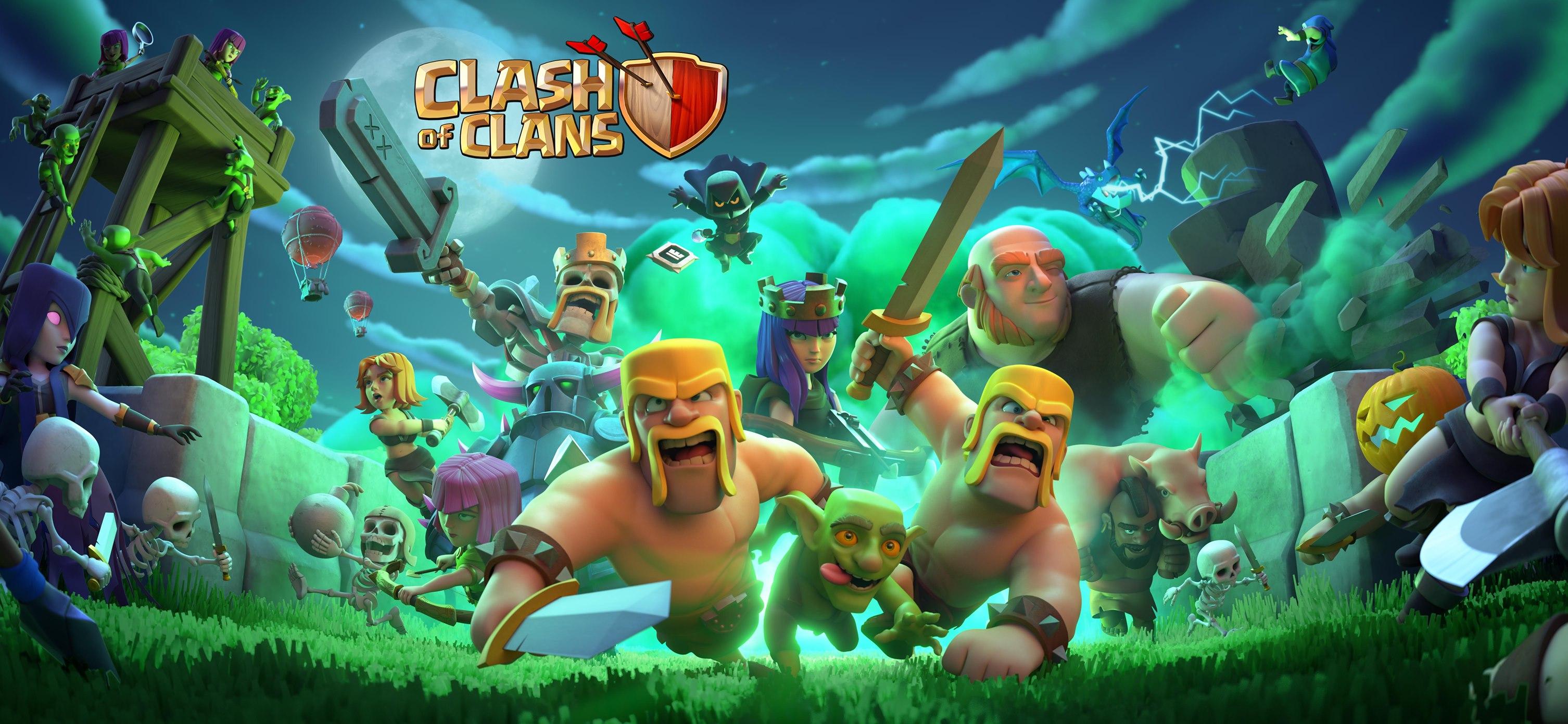 Hình ảnh Clash of clans halloween