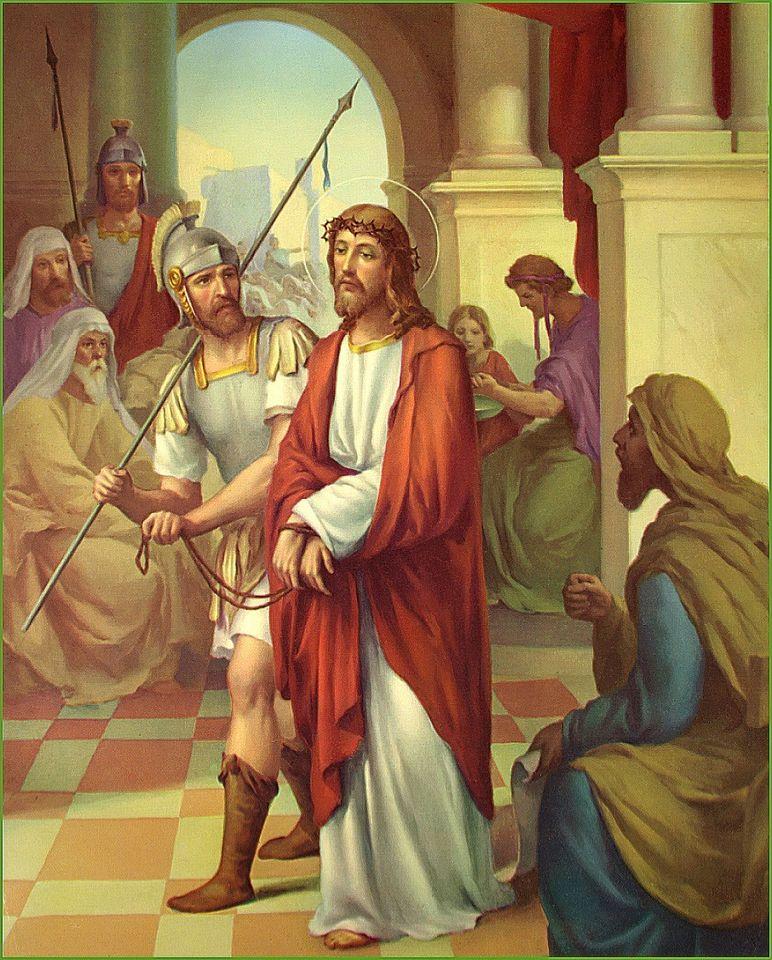 Hình ảnh công giáo chúa bị dẫn giải