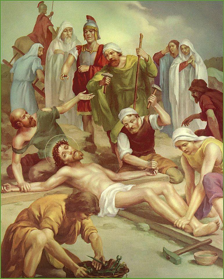 Hình ảnh công giáo chúa bị đóng đinh