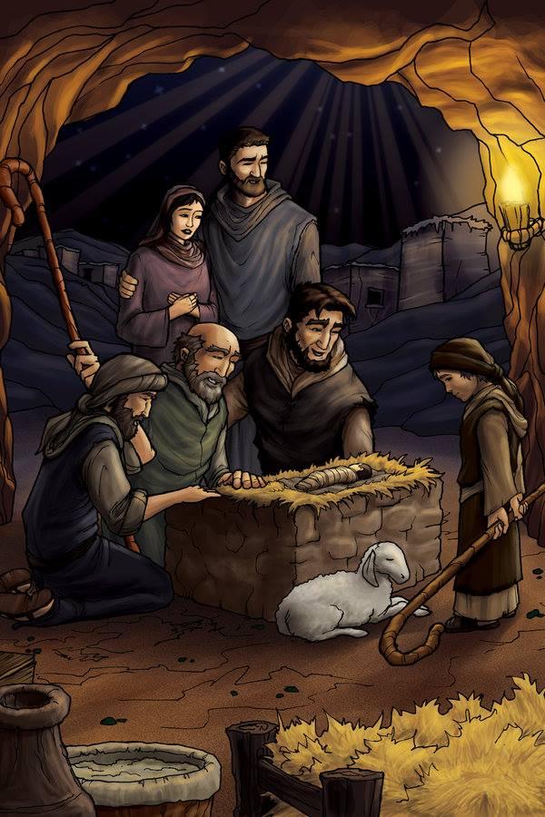 Hình ảnh công giáo tranh hoạt hình