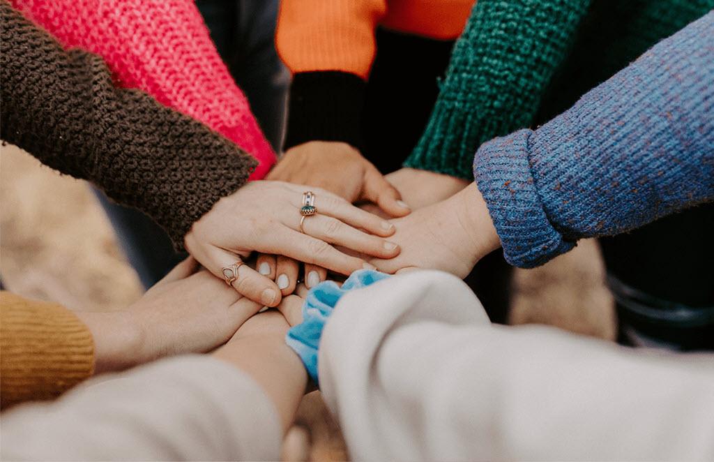 Hình ảnh đoàn kết làm việc nhóm