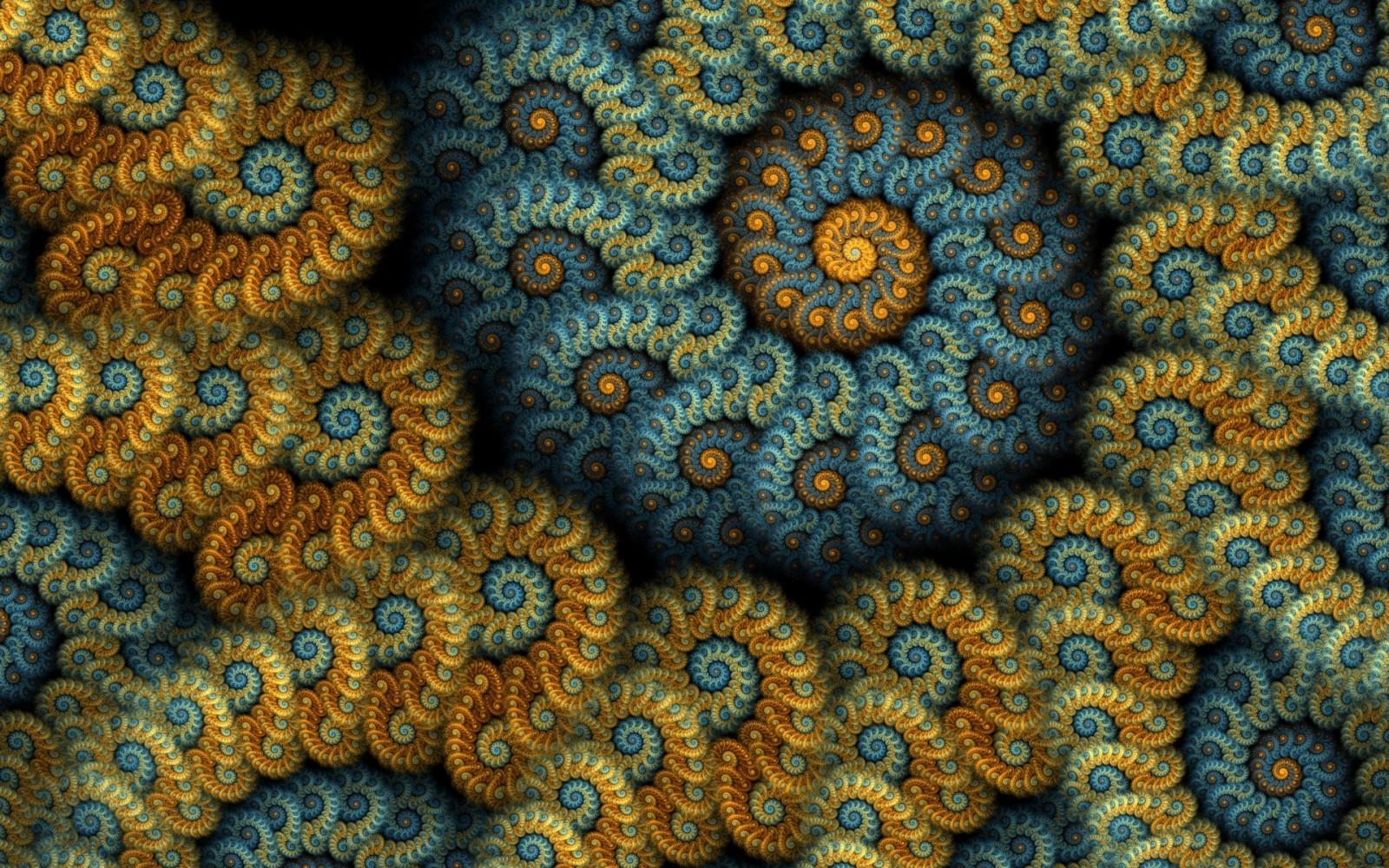 Hình ảnh đường xoắn ốc ảo giác 3D