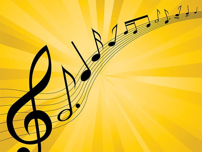 Hình ảnh giai điệu âm nhạc