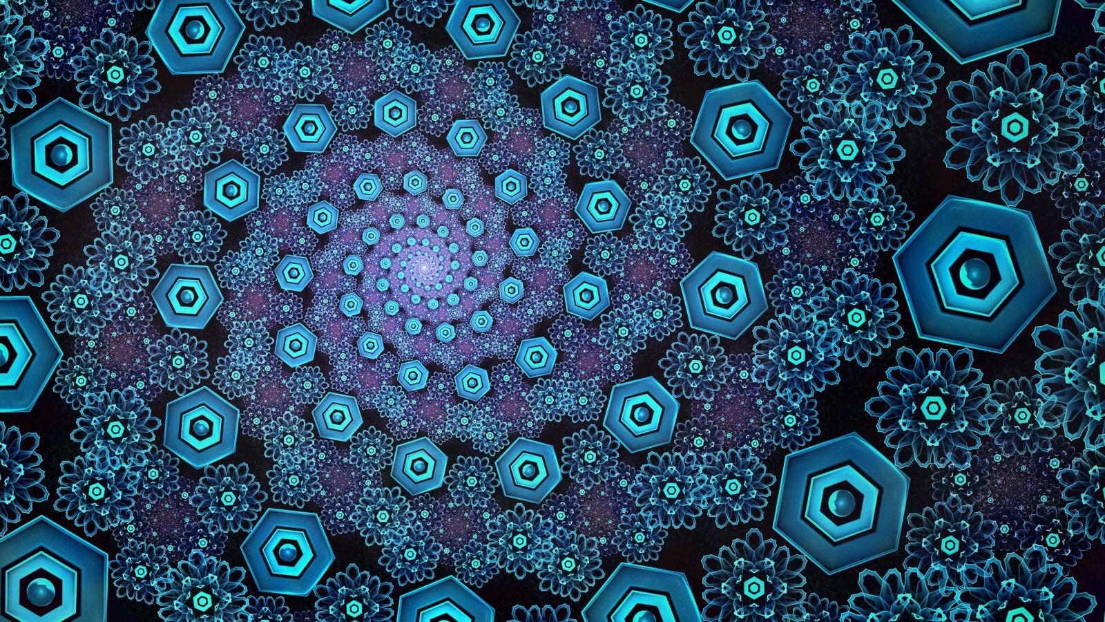 Hình ảnh hoa văn ảo giác 3D