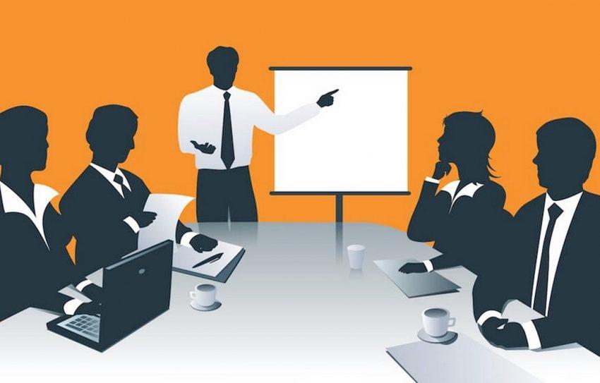 Hình ảnh làm việc nhóm thuyết trình