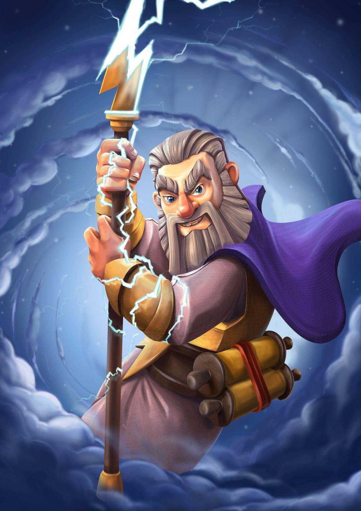 Hình ảnh nhân vật Clash of clans