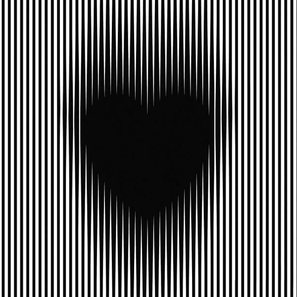 Hình ảnh trái tim ảo giác 3D