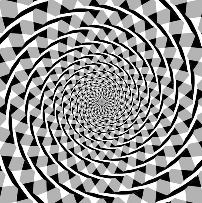 Hình ảnh tròn ảo giác 3D