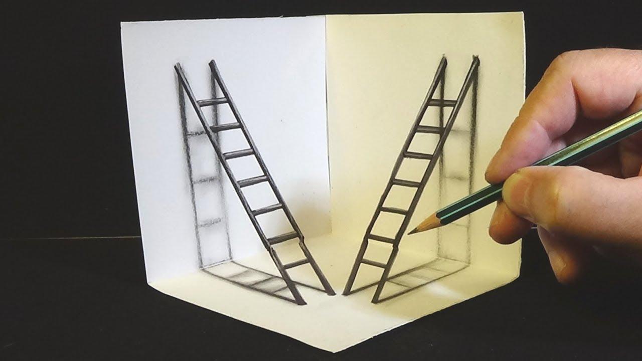 Hình ảnh vẽ ảo giác 3D