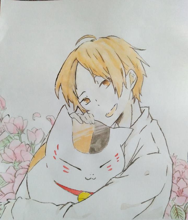 Tranh vẽ anime boy cute