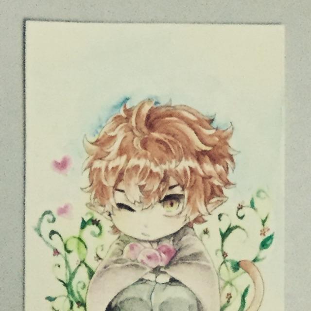 Tranh vẽ anime boy