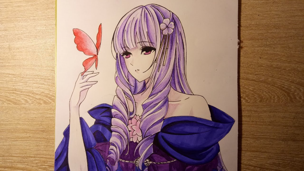 Tranh vẽ anime