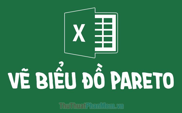 Cách vẽ biểu đồ tần suất (Pareto) trong Excel