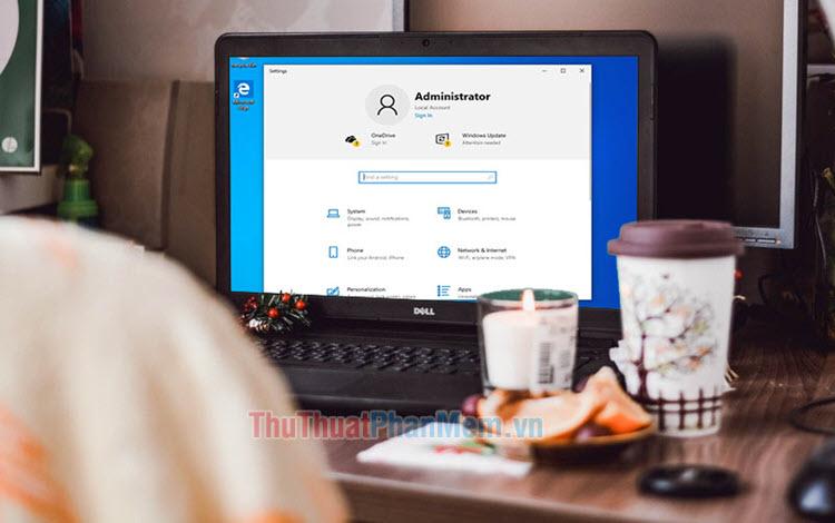 Cách đổi tên tài khoản Administrator trên Windows 10
