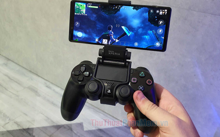 Cách kết nối tay cầm PS4 với điện thoại