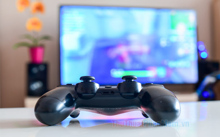 Cách kết nối tay cầm PS4 với máy tính