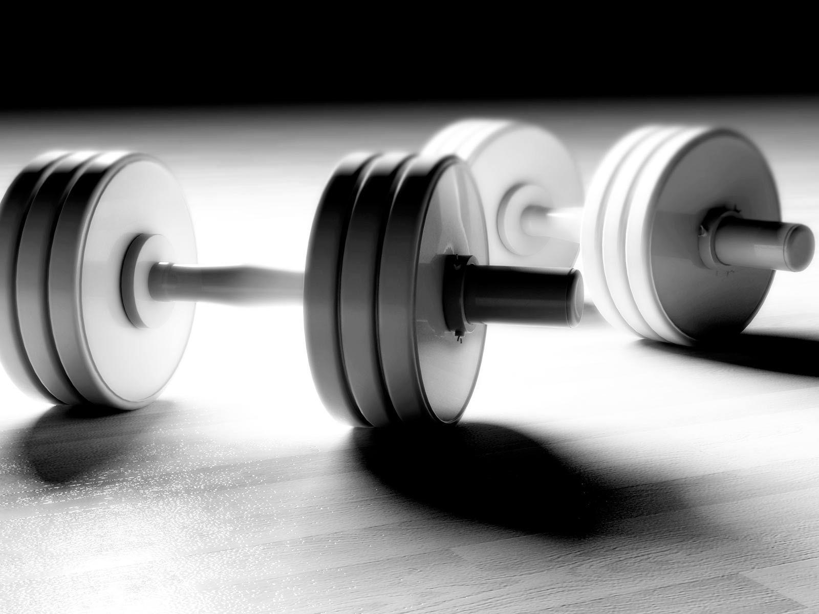 Background gym 3D