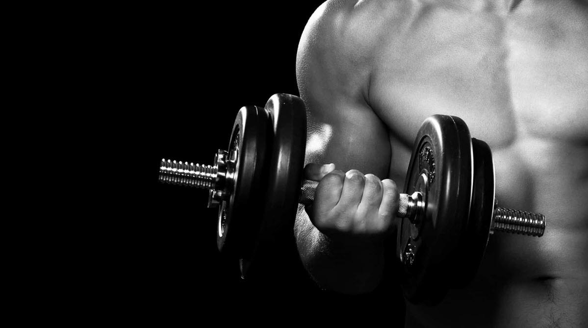 Background lực sĩ gym
