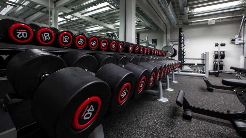 Background tạ gym
