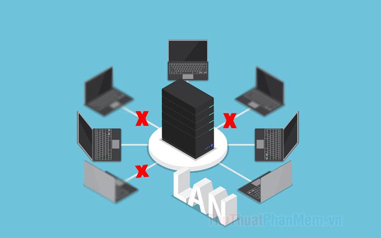 Cách khắc phục lỗi không truy cập được máy tính khác trong mạng LAN