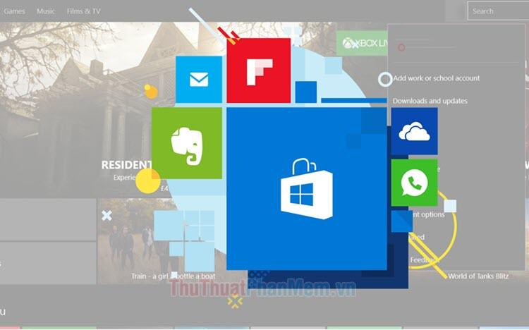 Cách reset ứng dụng đã cài từ Windows Store