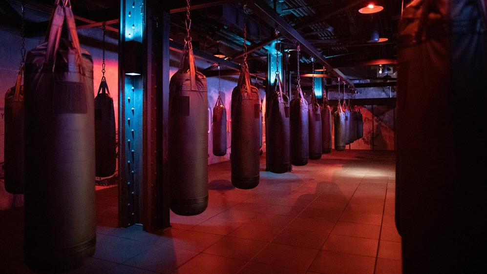 Hình ảnh background gym boxing