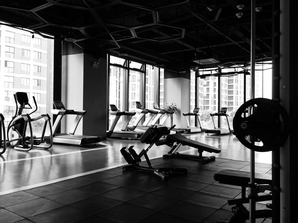 Hình ảnh background phòng tập gym
