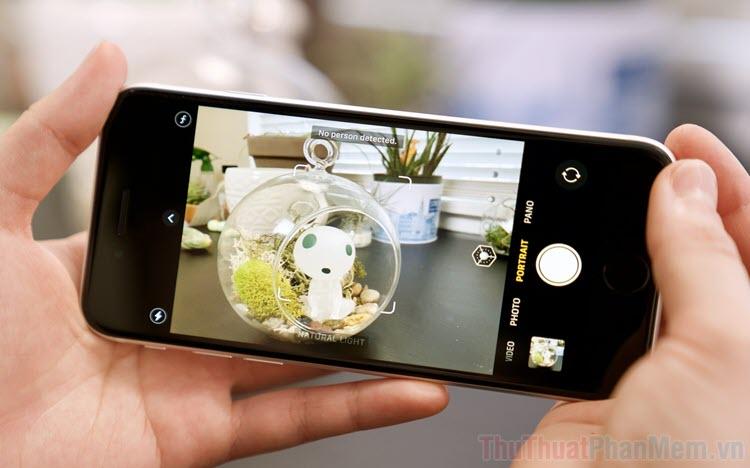 Cách chụp ảnh hình vuông trên iPhone, iPad