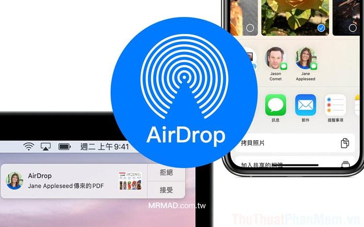 Cách đổi tên iPhone, iPad khi sử dụng Airdrop