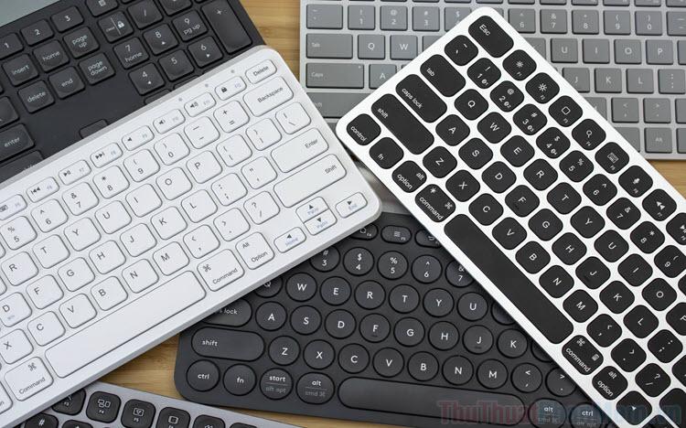 Top 10 bàn phím không dây tốt nhất 2021