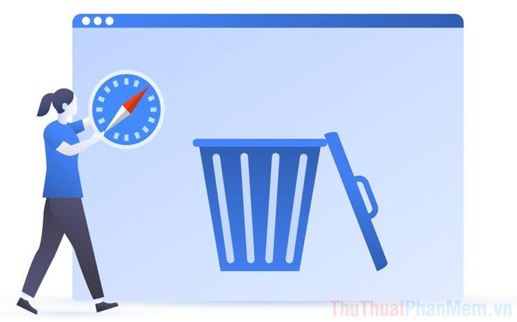 Cách xóa dữ liệu Web trên Safari bằng phím tắt