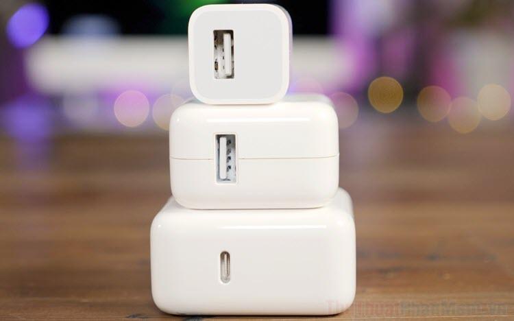 Top 5 củ sạc nhanh cho iPhone,iPad