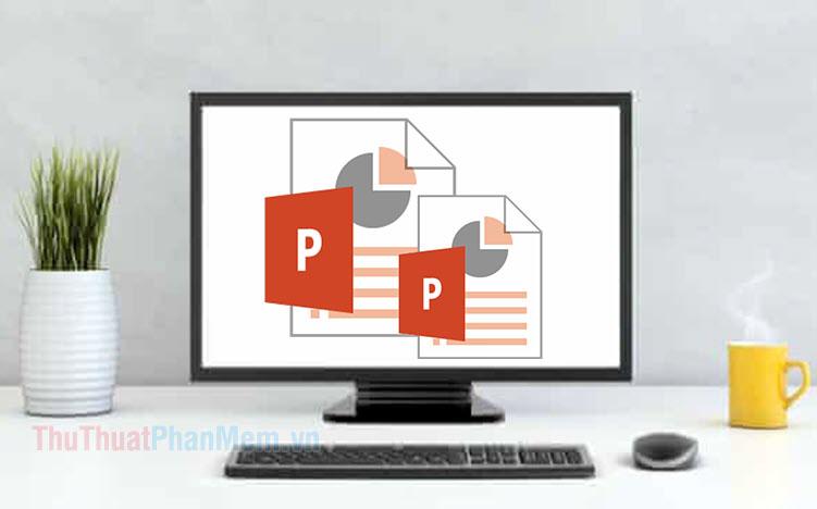 Cách gộp 2 file PowerPoint làm một