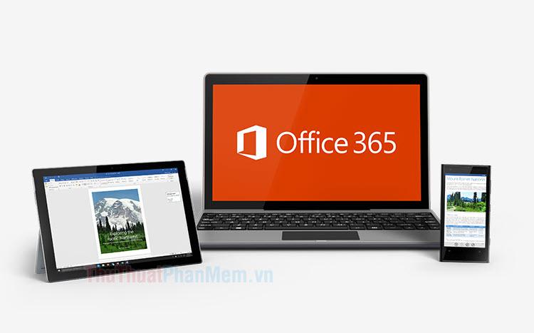 Cách tải về và cài đặt Office 365 trên máy tính