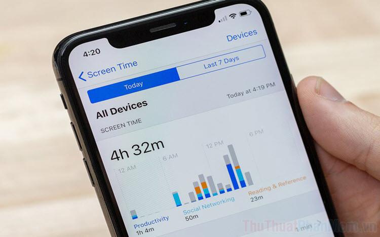 Cách tắt Screen Time (báo cáo thời gian sử dụng) trên iPhone