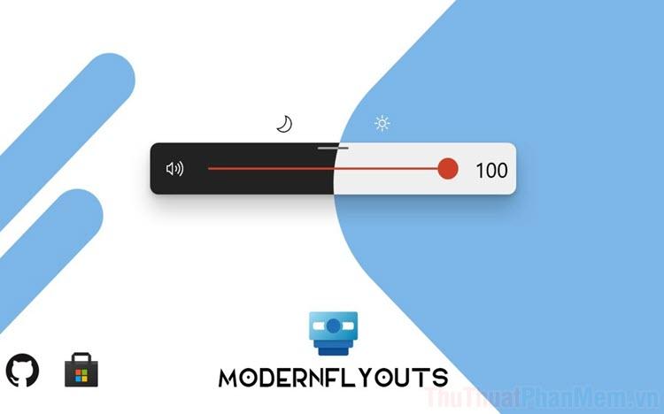 Cách thay đổi giao diện Windows 10 bằng ModernFlyouts