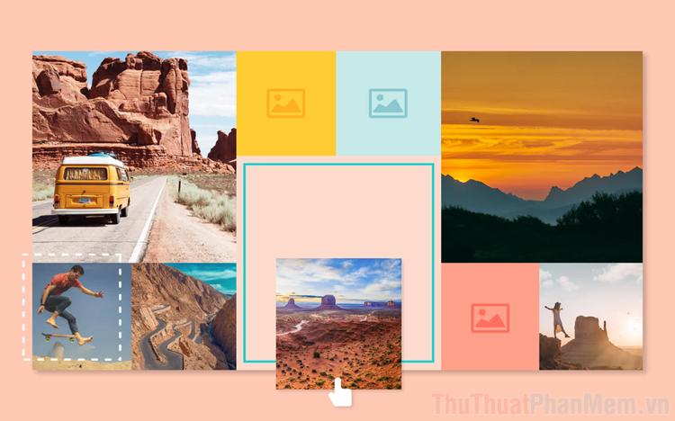 Cách ghép nhiều ảnh Online đẹp nhất