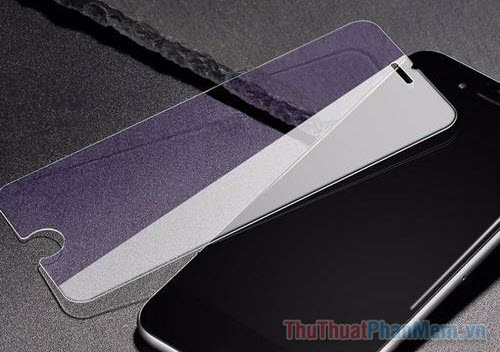 Sử dụng màn hình chống chói (Anti-glare Screen Protector)