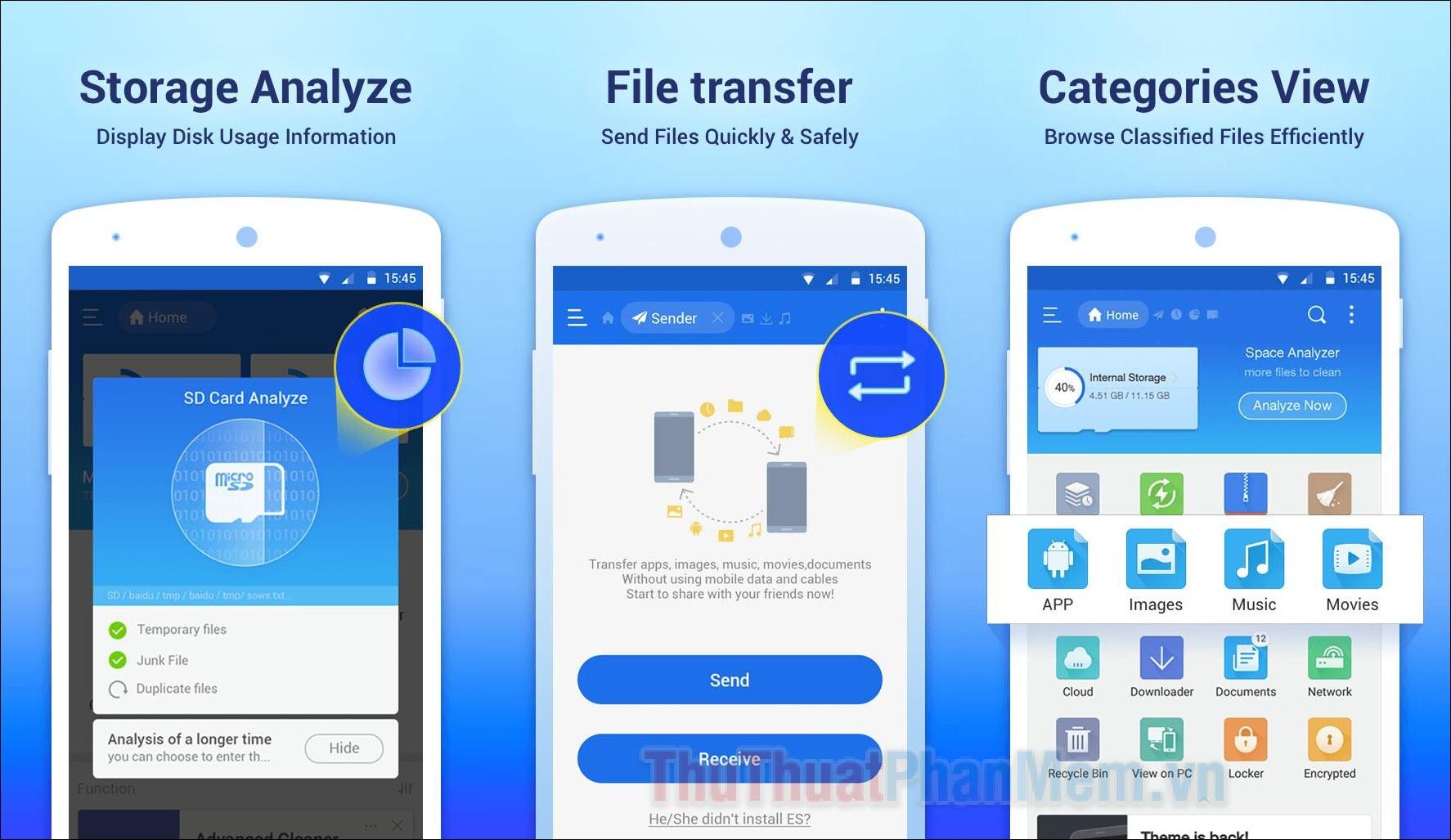 5 Ứng dụng quản lý tệp tốt nhất trên Android