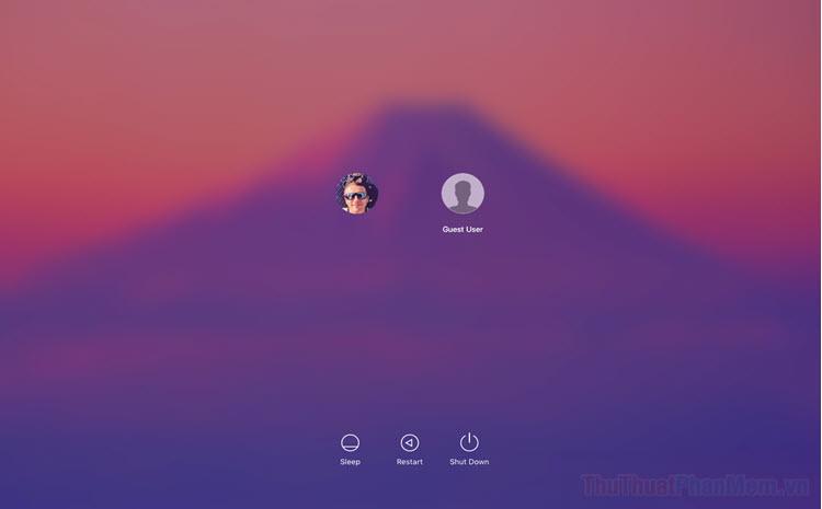 Cách ẩn tài khoản người dùng trên màn hình đăng nhập MacOS