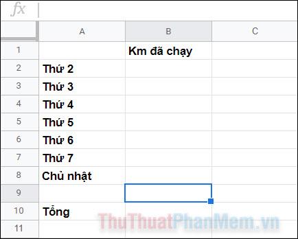 Cách thay đổi màu ô tự động trong Google Trang tính