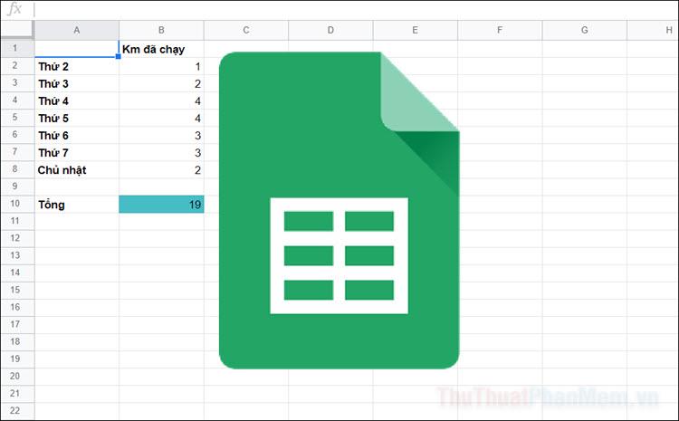 Tự động đổi màu ô trong Google Trang tính