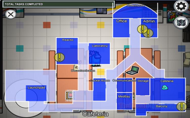 Hướng dẫn làm nhiệm vụ map Mira HQ trong Among Us