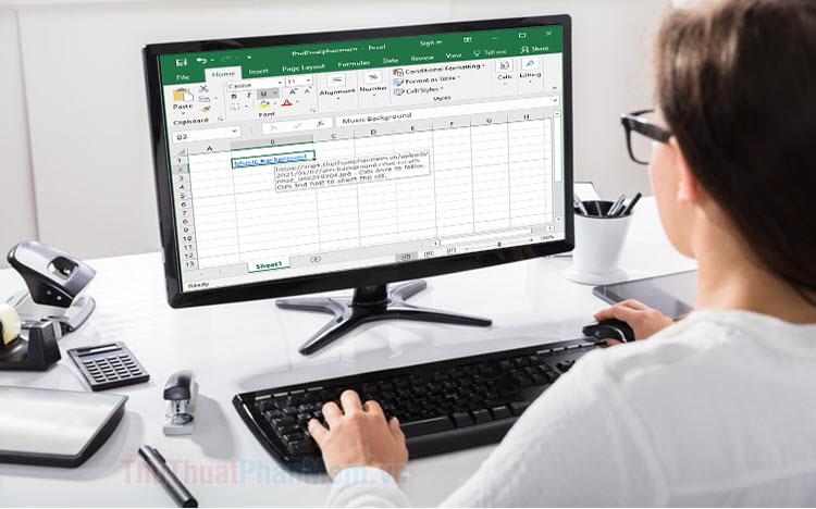 Cách chèn link ảnh vào Excel