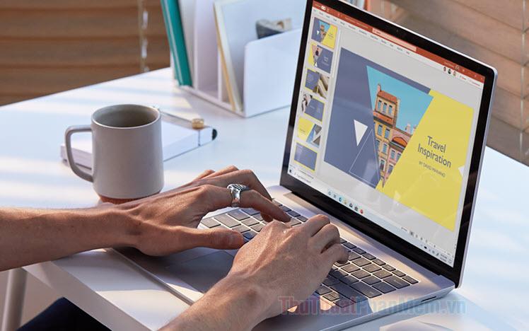 Cách làm hiệu ứng đổi màu chữ trên PowerPoint