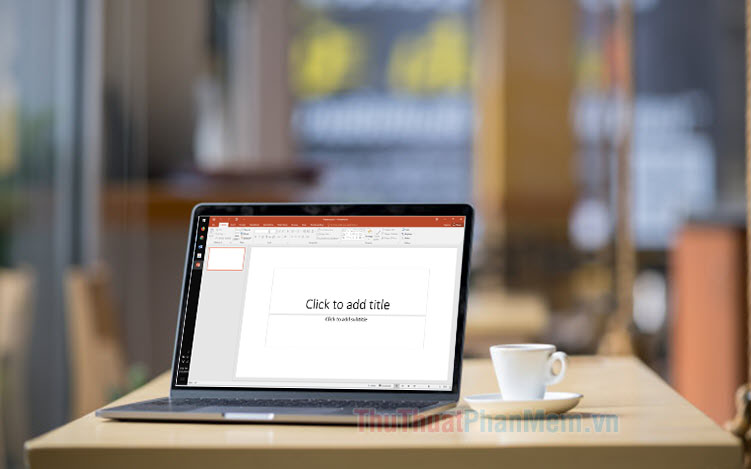 Cách làm hiệu ứng mờ chữ trong PowerPoint